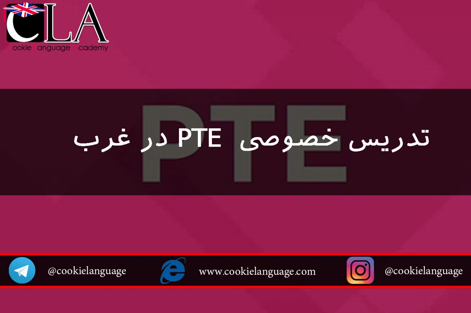 تدریس خصوصی  پی تی ای PTE
